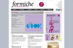 Formiche.net cambia faccia (non solo interfaccia)!